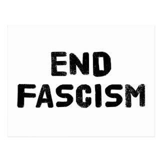 End Fascism Postcard