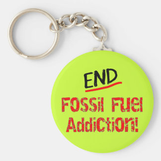 End Fossil Fuel Addiction-Oil Spill T-Shirts Keychain