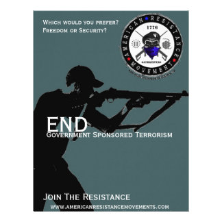 End Gov. Sponsored Terrorism Flyers