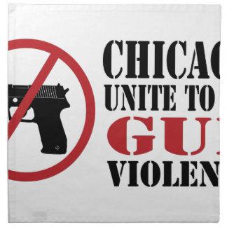 End Gun Violence Cloth Napkin