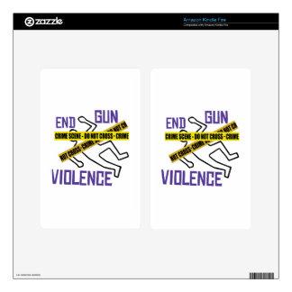 End Gun Violence Kindle Fire Skins