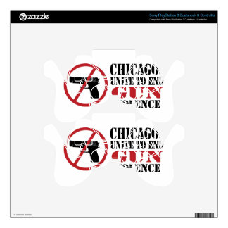 End Gun Violence PS3 Controller Decals