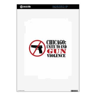 End Gun Violence Skin For iPad 2