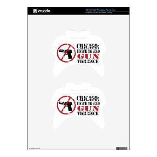 End Gun Violence Xbox 360 Controller Decal