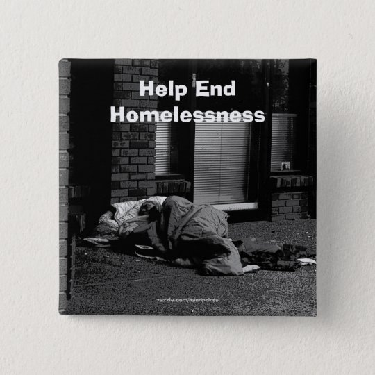 End Homelessness Campaign Button