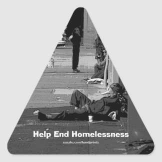 End Homelessness Campaign Sticker