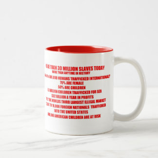 END Human Trafficking Mug