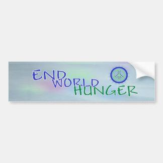 End Hunger Somalia Relief Bumper Sticker