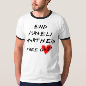 End Israeli Apartheid T-Shirt