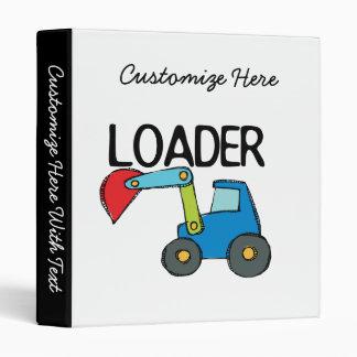 End Loader 3 Ring Binder