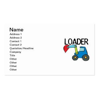 End Loader Business Cards