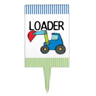 End Loader Cake Topper