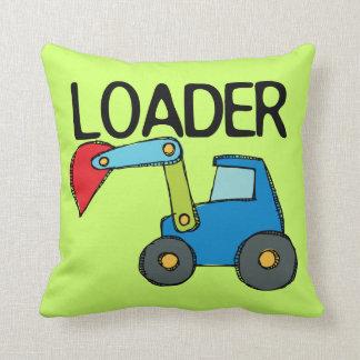 End Loader Throw Pillow