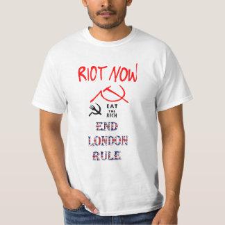 End London Rule Eat the Rich T-Shirt