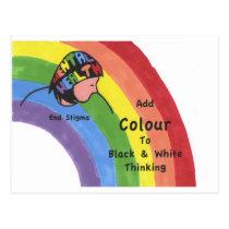 End Mental Health Stigma Postcard