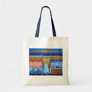 Beach Themed End of a Beach Day Tote Bag by Lisa Lorenz