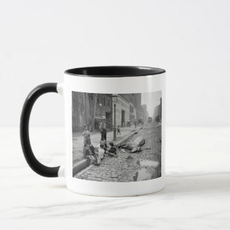 End of a Career, early 1900s. Mug