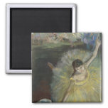 End of an Arabesque, 1877 2 Inch Square Magnet