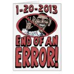 End of an Error Anti-Obama Gear Card