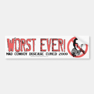 End of an Error Car Bumper Sticker