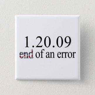 End of an Error - Button