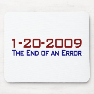 End Of An Error Mouse Pad