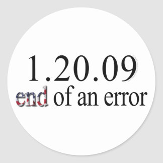 End of an Error - Stickers