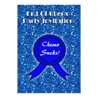 End of Chemo Party Invitation for chemo patient