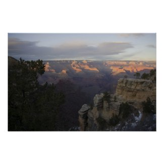 End of Day at the Grand Canyon Poster