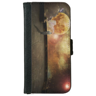 End of night wallet phone case for iPhone 6/6s