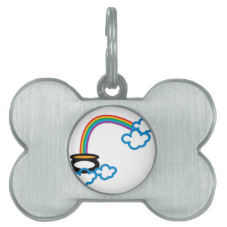 End Of Rainbow Pet Tags