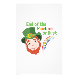 End Of Rainbow Stationery