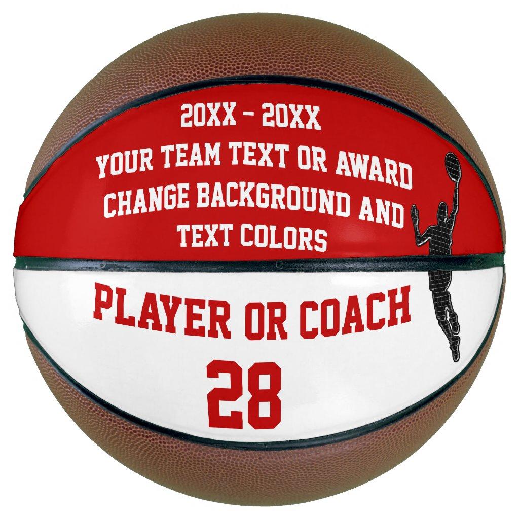 End of Season Basketball Award Ideas PERSONALIZED