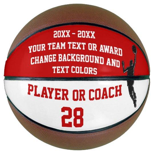 end of season basketball award ideas personalized zazzle com