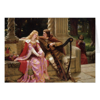 End of Song Flirt Edmund Blair Leighton Card
