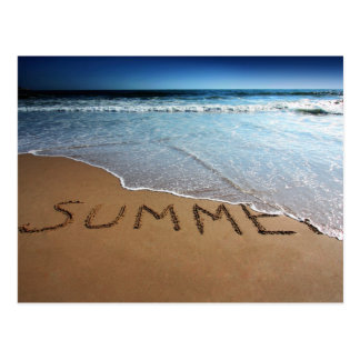 End Of Summer At California Coast Postcard