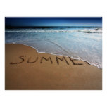 End Of Summer Poster Print