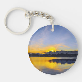 End of the Day in Tierra Del Fuego Keychain