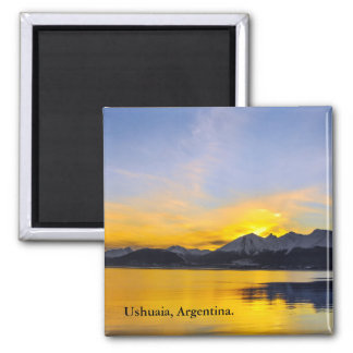 End of the Day in Tierra Del Fuego Magnet