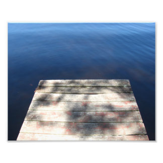 End of the Dock Photo Print