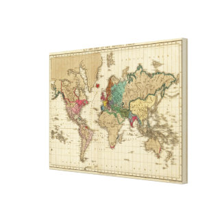 End of The General Peace 1828 AD Gallery Wrap Canvas