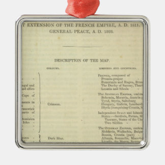 End of The General Peace 1828 AD Ornament