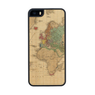 End of The General Peace 1828 AD Wood Phone Case For iPhone SE/5/5s