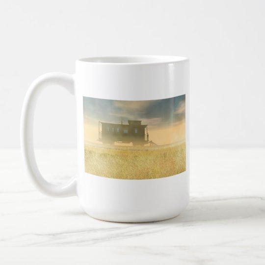 End of the Line mug