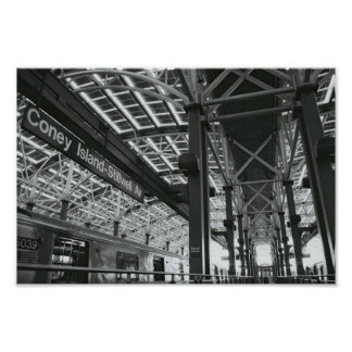 End of the Line Print