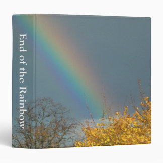 End of the Rainbow (1.5in) 3 Ring Binder