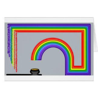 End of the Rainbow Card