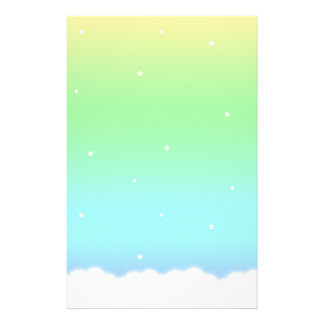 End of the Rainbow Custom Stationery