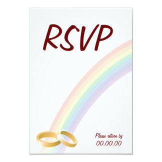 End of the Rainbow Custom Invitations