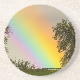 End Of The Rainbow Pot Of Gold Coasters